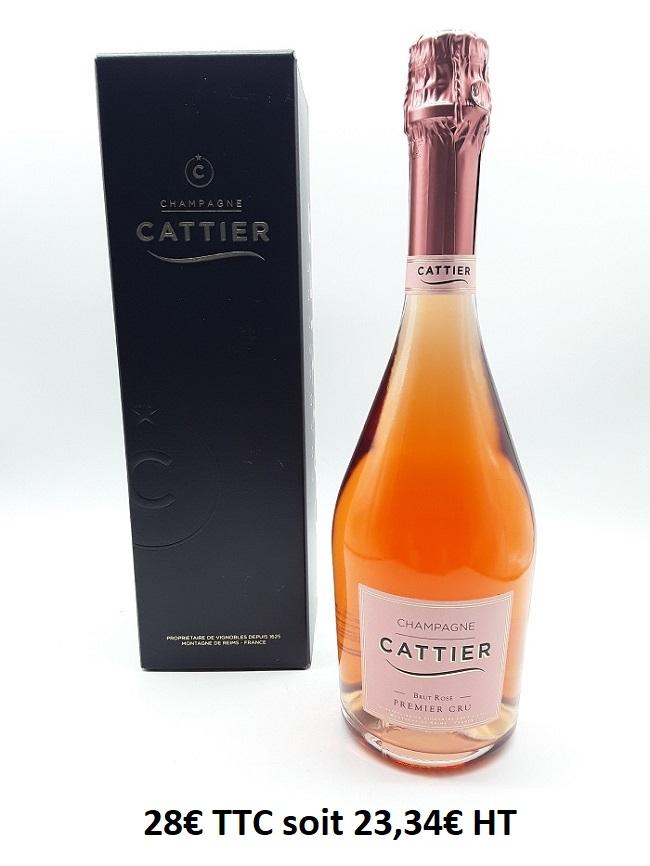 Champagne Cattier Rosé Brut Premier Cru